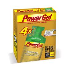 PowerBar PowerGel 41g - zelené jablko/kofeín 3+1 zdarma