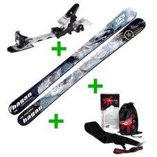 POŽIČOVŇA Set Hagan Skyforce 125 cm + Hagan Z02 Jr + pásy Gecko