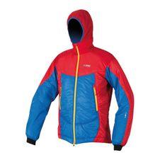 Primaloft bunda Directalpine Belay 6.0 - blue/red