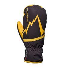 Rukavice La Sportiva Gloves Skimo Mittens - black/yellow