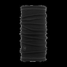 Šatka Buff Lightweight 3/4 Merino wool - solid black-black