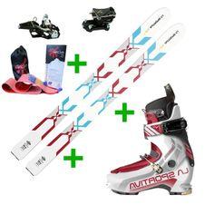 Set La Sportiva GTS 2.0 + La Sportiva Starlet 2.0 + Fischer Tour Speed Turn + pásy Gecko
