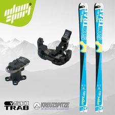 Set Ski Trab Piuma Gara Lirace 2016 + Kreuzspitze SCTTT Titanium