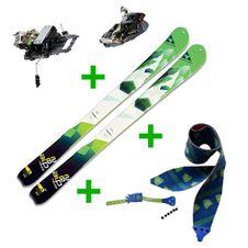 Set Skialp lyže Fischer Alproute 82 + skialp viazanie Dynafit TLT Radical ST 2.0 + pásy Gecko Race Touring