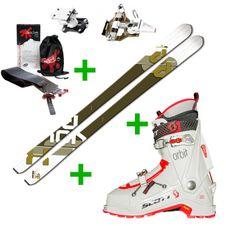 Set Skialp lyže Fischer Tour X-Pression + skialp lyžiarky Scott Orbit SMU + skialp viazanie Dynafit TLT Radical ST 2.0 + pásy Gecko