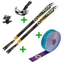 Set Skitrab Gara Powercup 17/18 + Skitrab Attacco TR-Gara Titan + Colltex Race - 60mm