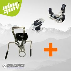 Set skialpinistické viazanie Kreuzspitze SCTT + brzdy