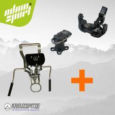 Set skialpinistické viazanie Kreuzspitze SCTTT + brzdy