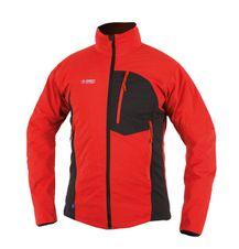 Softshellová bunda Directalpine Cliff - red/anthracite