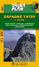 TM 2501 Západné Tatry 1:25 000