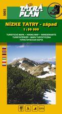 TM 5003 Nízke Tatry - západ 1:50 000