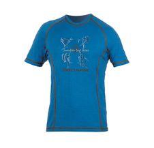 Tričko Directalpine Furry - blue/anthracite