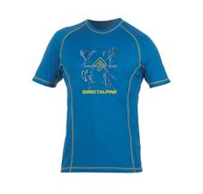 Tričko Directalpine Furry - blue/gold