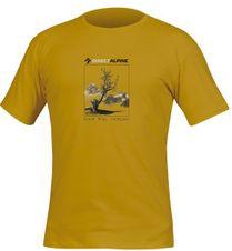 Tričko Directalpine Organic 1.0 - mustard