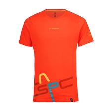 Tričko La Sportiva Shortener T-Shirt - tangerine
