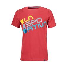 Tričko La Sportiva Square T-Shirt - cardinal red
