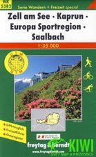 Turistická mapa 1:35T - Zell a, See, Kaprun, Europa Sportregion