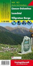Turistická mapa 1:50T Lienzer Dolomiten-Lesachtal - Villgratner