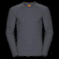 Zajo Bjorn Merino Tshirt LS - sivá