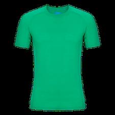 Zajo Bjorn Merino Tshirt SS - zelená