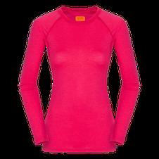 Zajo Elsa Merino W Tshirt LS - fialová