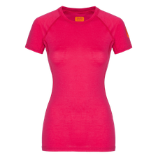 Zajo Elsa Merino W Tshirt SS - fialová