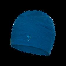 Zajo Hals Head Merino Beanie - modrá