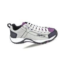 Turistická obuv Alpina Diamond 2.0 W - white/violet