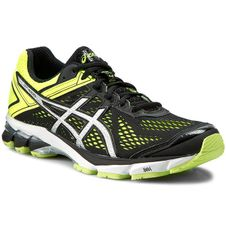Asics GT-1000 4 - black/silver/flash yellow