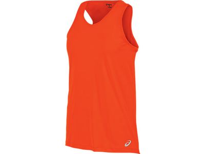 Asics Race Singlet - red