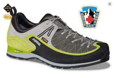 Turistická obuv Asolo Salyan GV MM - Graphite/Green lime