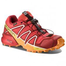 Bežecká obuv Salomon Speedcross 4 GTX -fiery red/red/dal