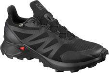 Bežecká obuv Salomon Supercross GTX - Black/Black/Black