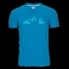 Tričko Zajo Bormio - blue jewel nature