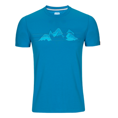 Zajo Bormio T-shirt - blue jewel nature