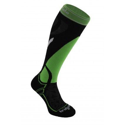 Bridgedale Vertige Mid - Black/green