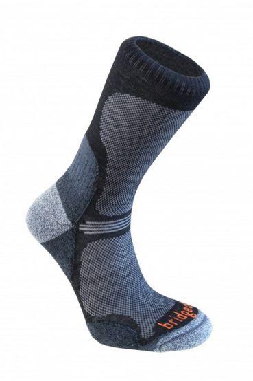 Ponožky Bridgedale WoolFusion Ultra Light - Black