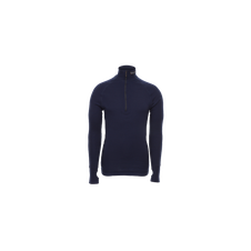 Brynje Arctic Double Zip-polo 3/4 neck, navy
