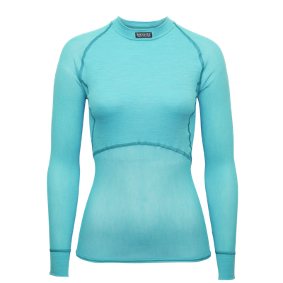 Termoprádlo Brynje Lady Wool Thermo Light - aqua