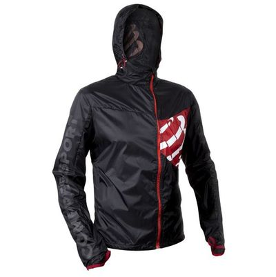 Bunda Compressport Hurricane Jacket - black