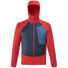 Bunda Millet Touring Speed XCS Hoodie - fire/orion blue