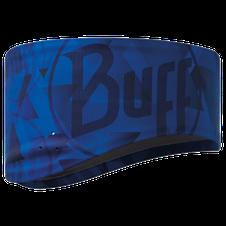 Čelenka Buff Headband windproof tip logo blue