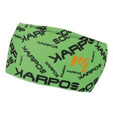 Čelenka Karpos Pelmo - fluo zelená/čierna