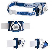 Čelovka Led Lenser SEO 7R - modrá