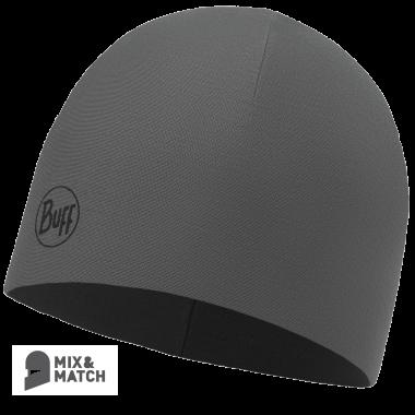 426c9a8e9 Čiapka Buff Microfiber a polar hat - solid grey castlerock - castlerock grey
