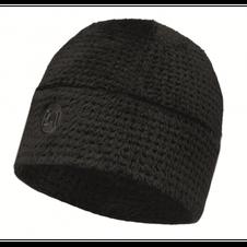 Čiapka Buff Thermal hat solid graphite black - graphite