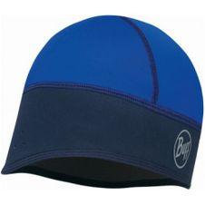 Čiapka Buff Windproof tech fleece hat solid blue - blue
