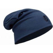 Čiapka Buff wool hat heavyweight loose - solid denim