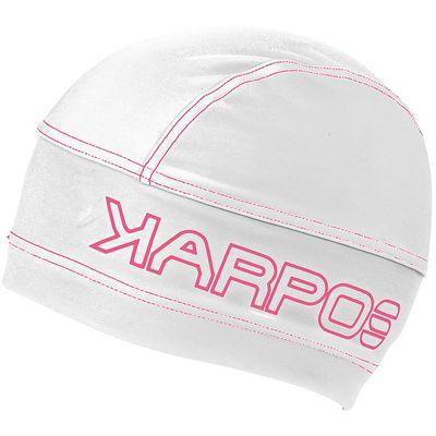Čiapka Karpos Alagna - biela/fluo ružová