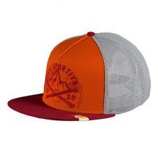 Čiapka La Sportiva Hipster Trucker Hat - chili/pumpkin